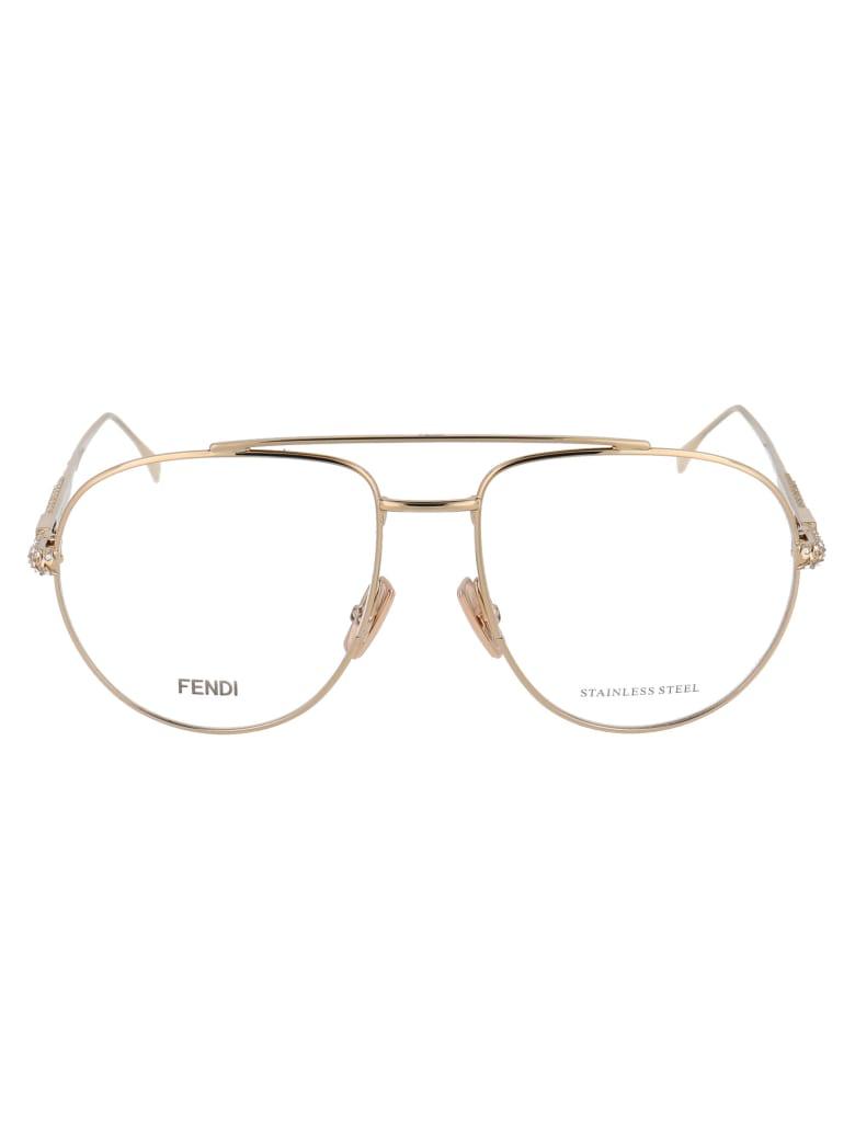 Fendi Ff 0446 Glasses - J5G GOLD