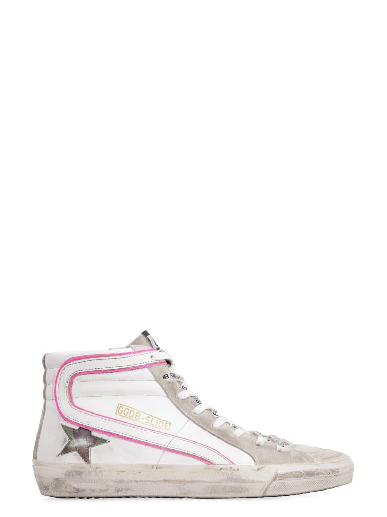 Golden Goose Slide High-top Sneakers - White