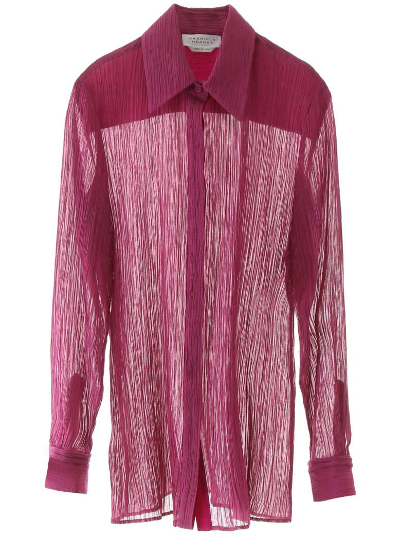 Gabriela Hearst Crepe Shirt - ROMANESCO (Purple)