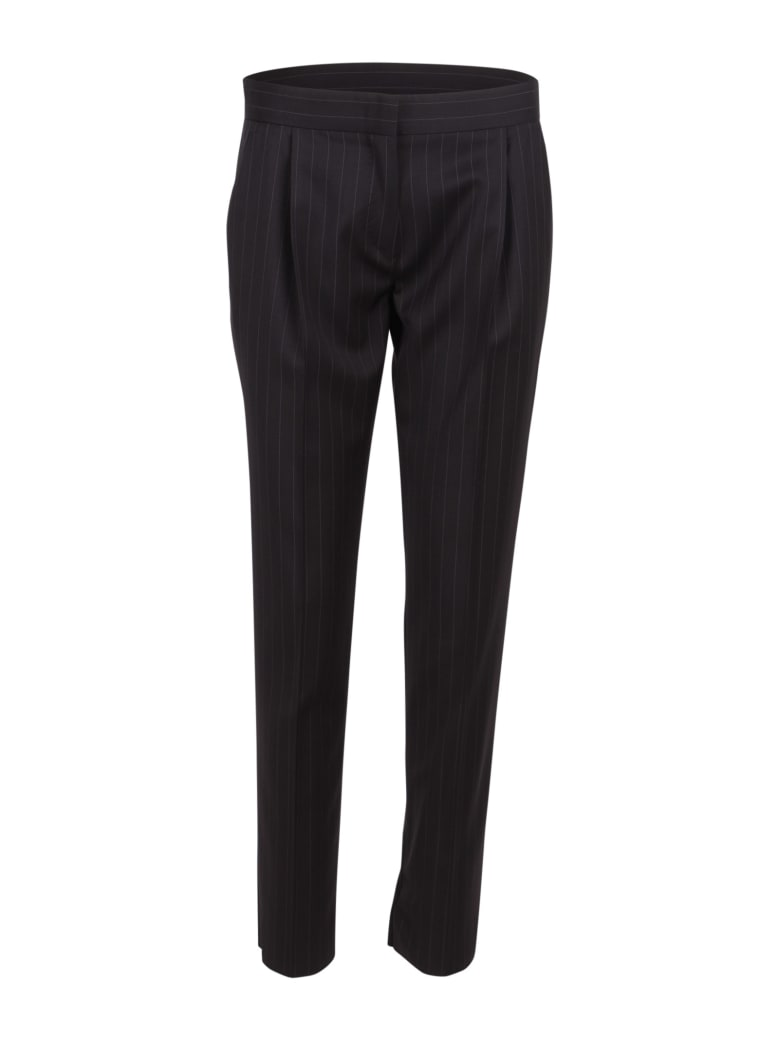 Max Mara 'ululo' Wool Trousers - Black