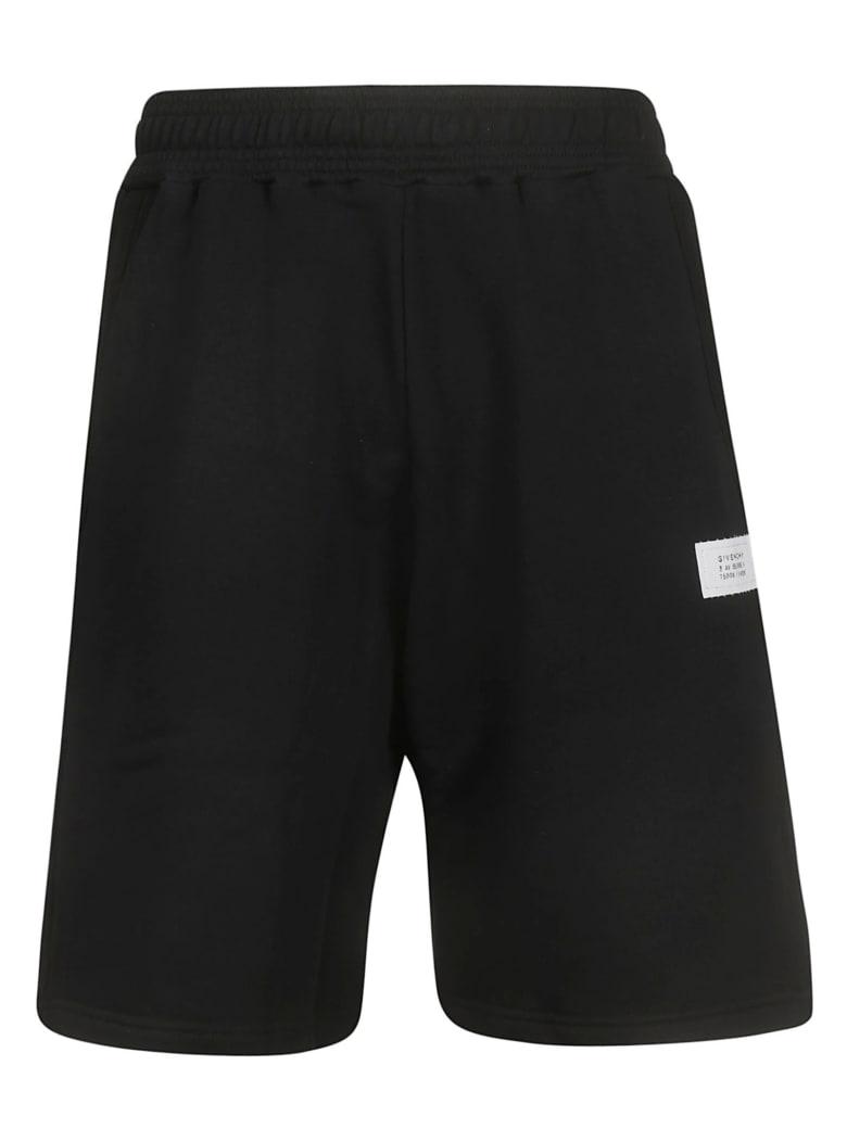 Givenchy Logo Patch Shorts - Black