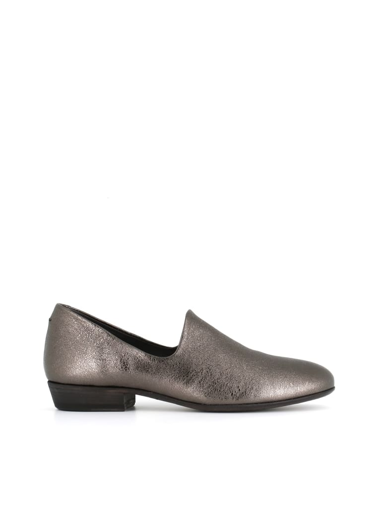 """Pantanetti Slippers """"12120c"""" - Pewter"""