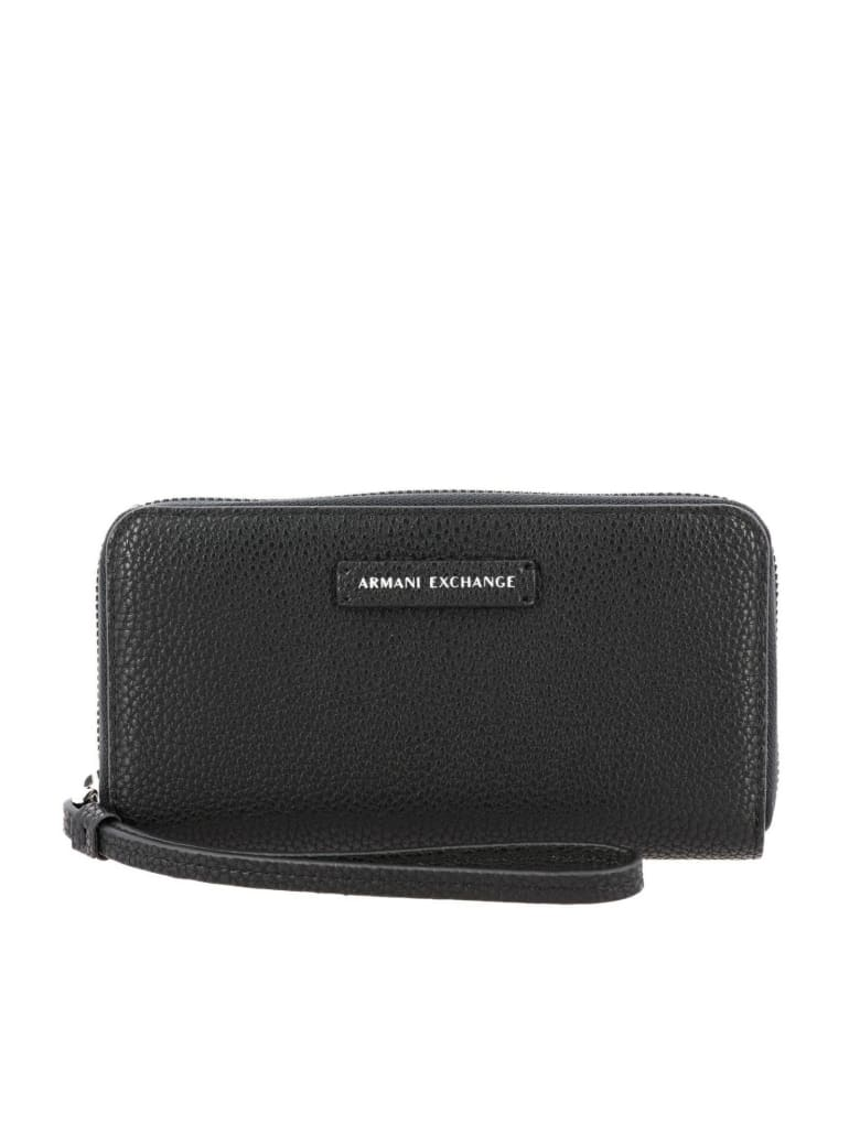 Armani Collezioni Armani Exchange Wallet Wallet Women Armani Exchange - black