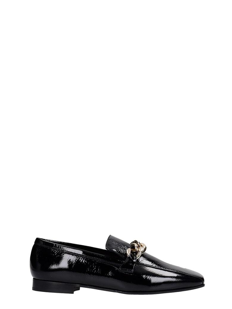 Fabio Rusconi Loafers In Black Patent Leather - black