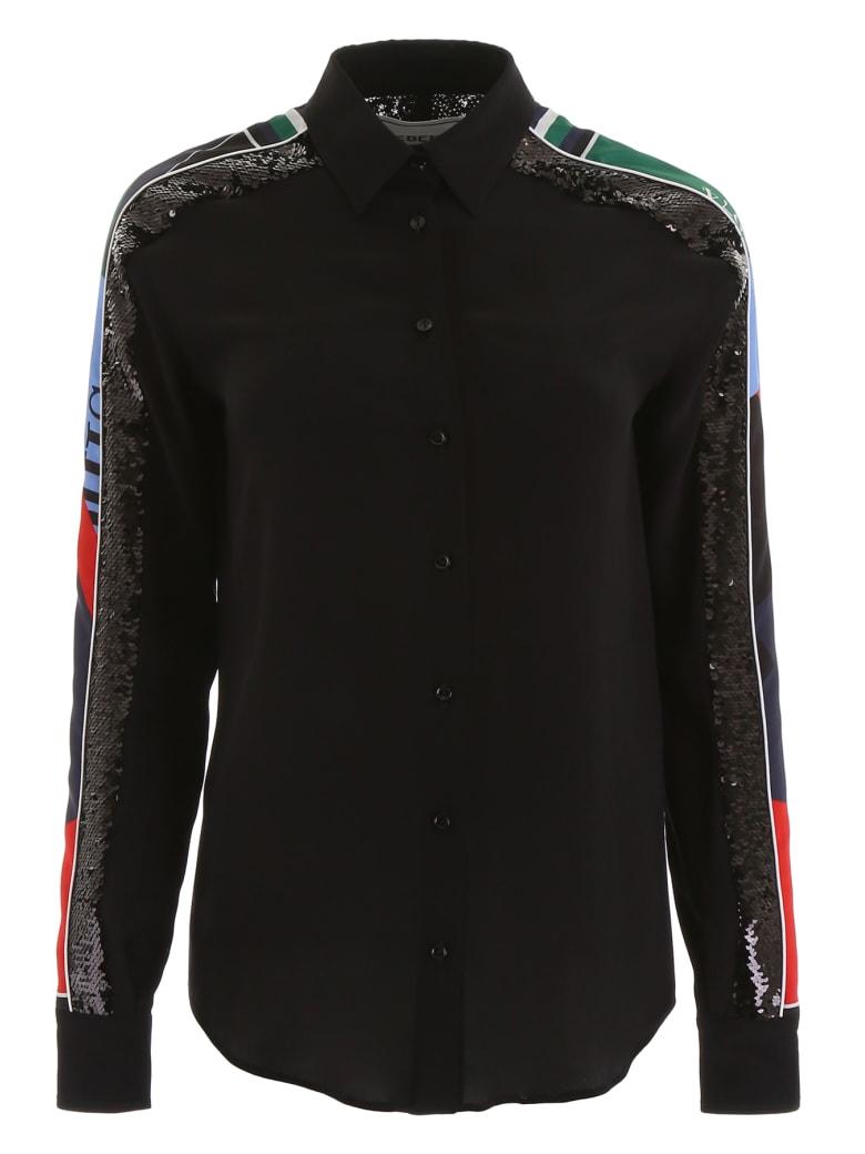 Iceberg Shirt With Sequins - NERO (Black)