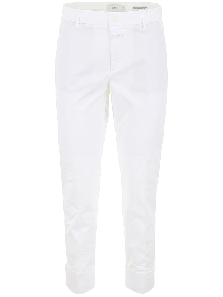 Closed Stewart Chino Trousers - WHITE (White)
