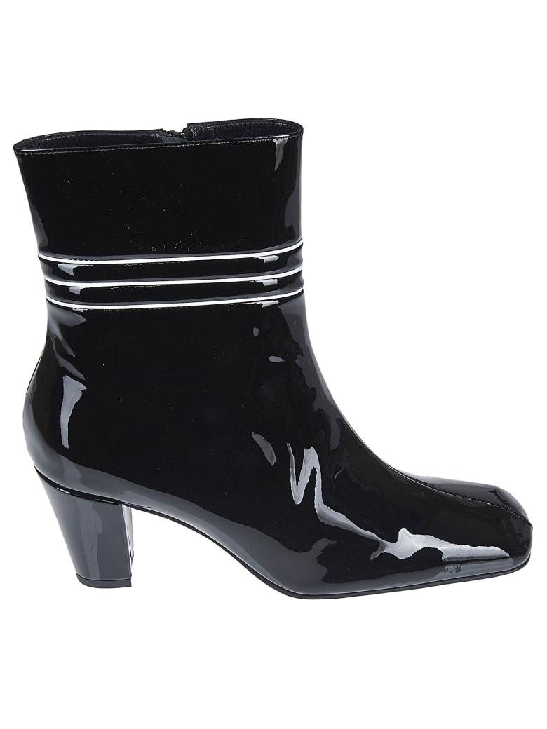 Dorateymur Varnished Ankle Boots - Nero