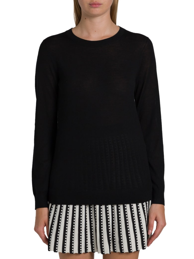 MICHAEL Michael Kors Merino Wool Sweater - Nero