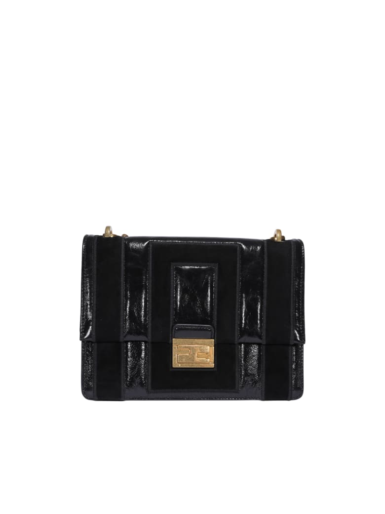 Fendi Kan U Bag - Black