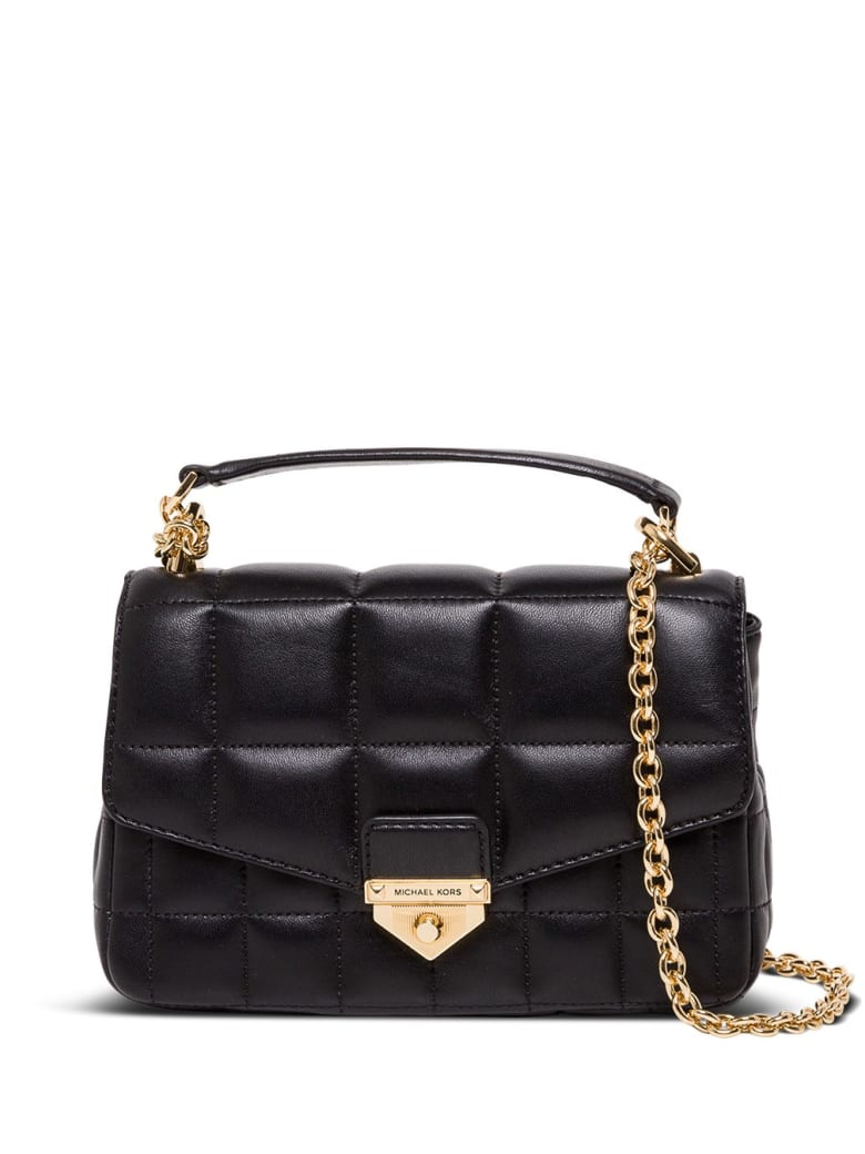 MICHAEL Michael Kors Soho Small Crossbody Bag In Quilted Leather - Black