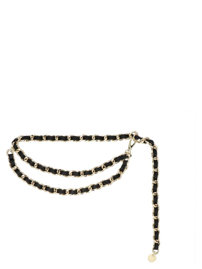 B-Low the Belt 'gissel Chain' Belt - Gold