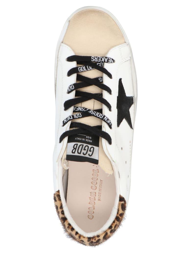 Golden Goose 'superstar' Shoes - WHITE/NEUTRALS