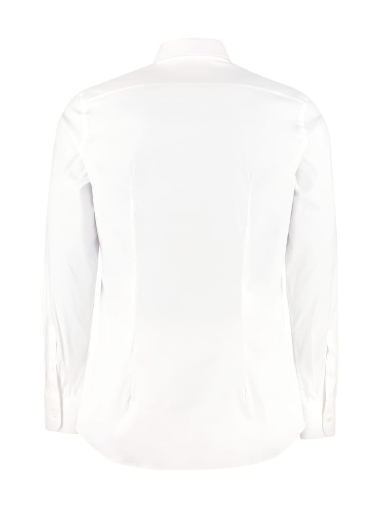Prada Stretch Cotton Shirt - White