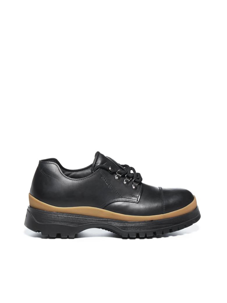 Prada Laced Shoes - Nero caramello