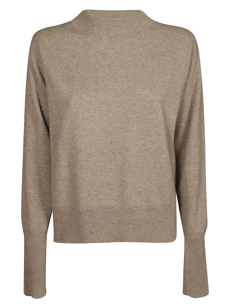 Sofie d'Hoore Classic Sweater - Sand Camel