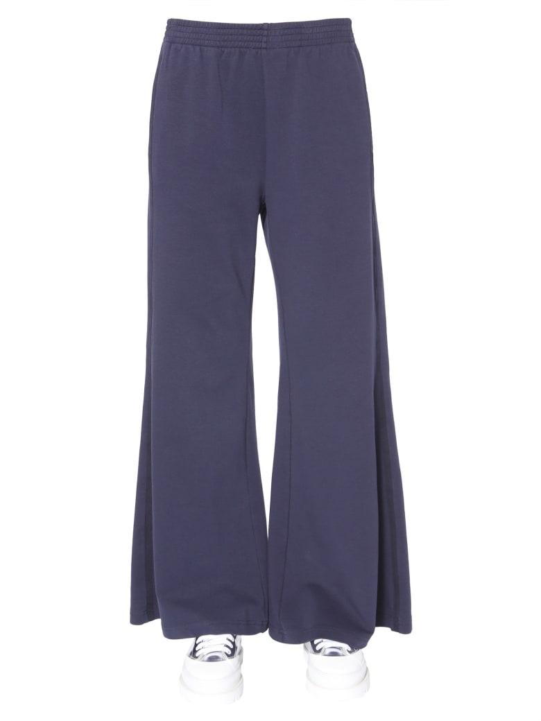 MM6 Maison Margiela Wide Trousers - BLU