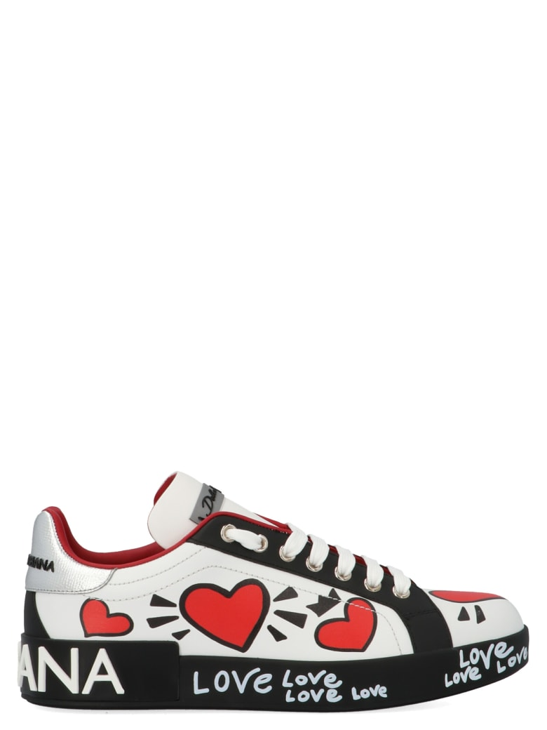Dolce & Gabbana 'hearts' Shoes - Multicolor