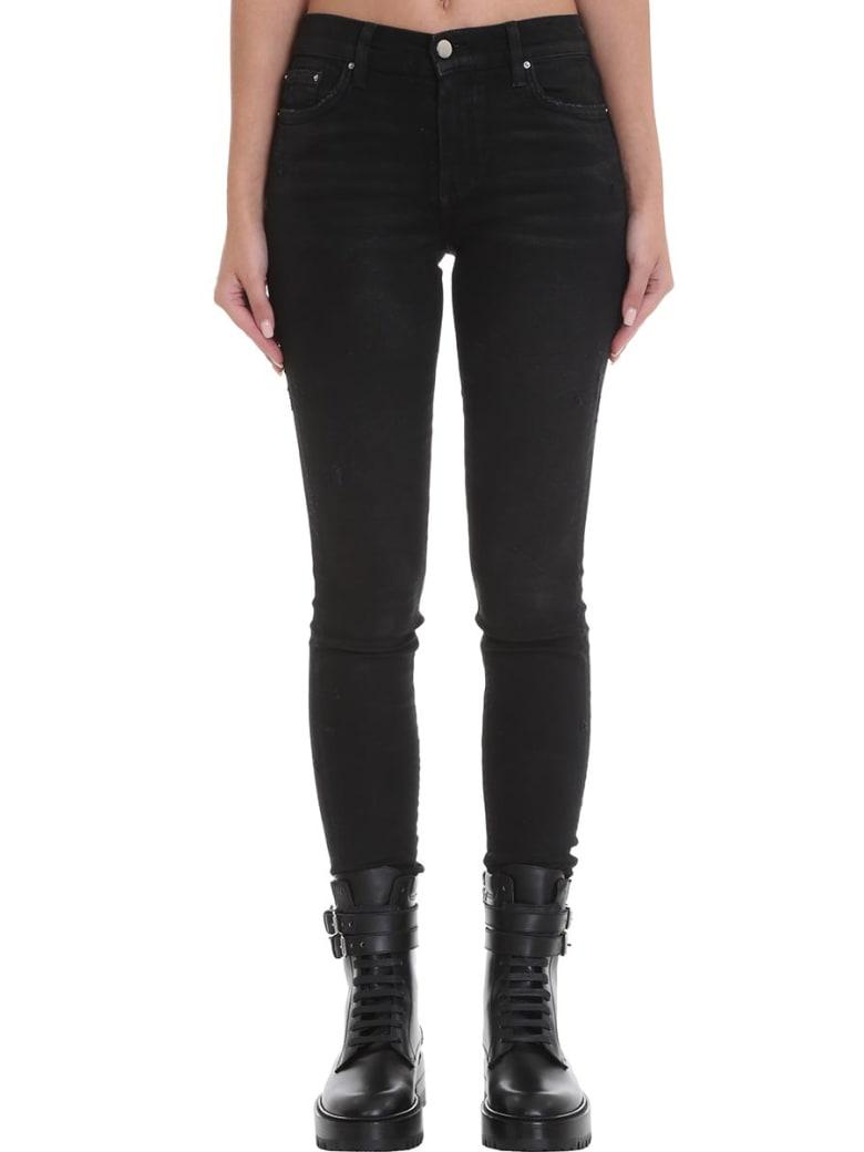 AMIRI Stack Jean Jeans In Black Denim - black