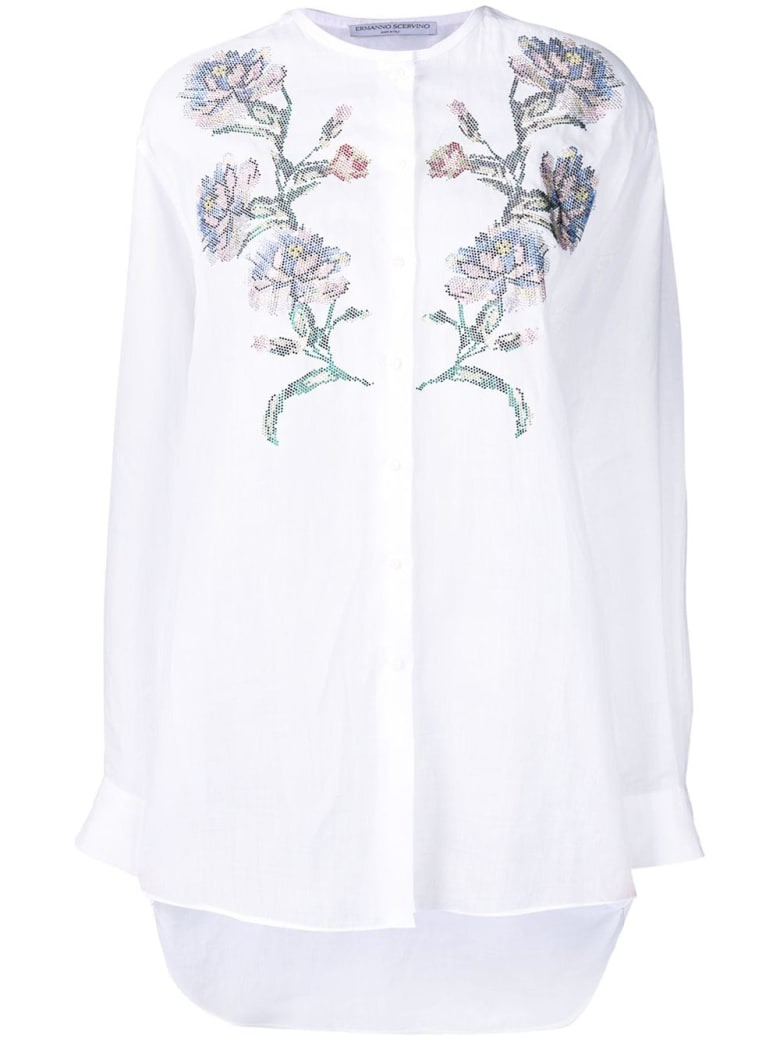 Ermanno Scervino Shirt Long Sleeves - Bianco