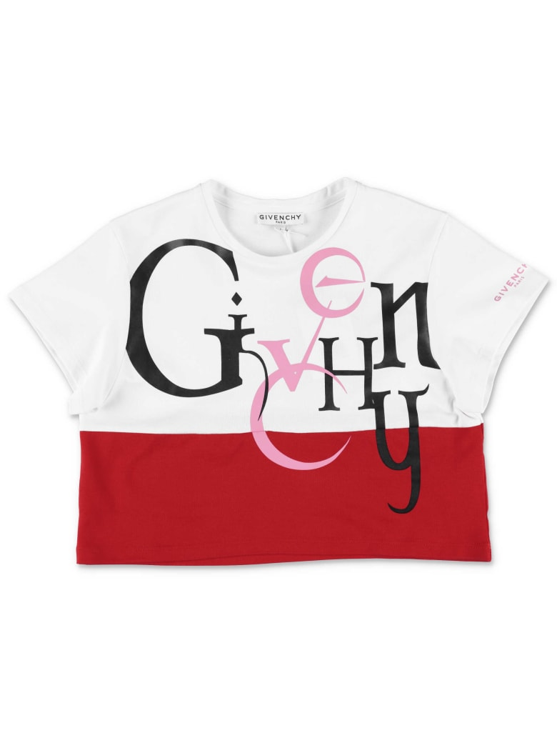 Givenchy T-Shirt - Rosso/bianco