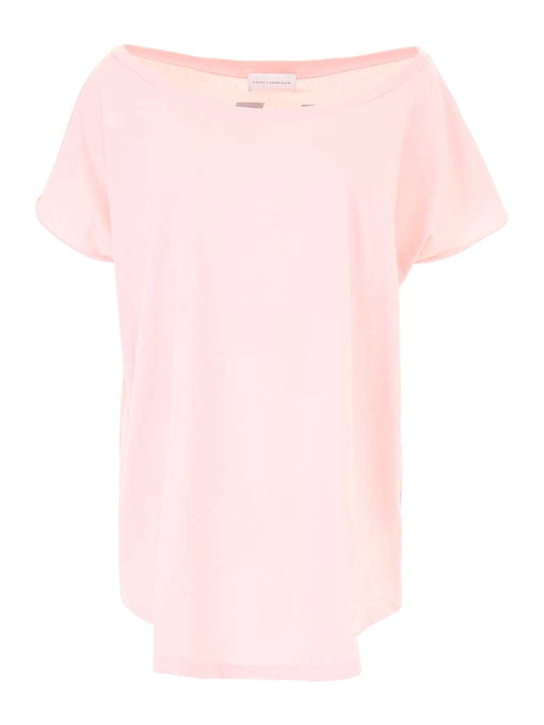 Faith Connexion New York T-shirt - BABY PINK (Pink)