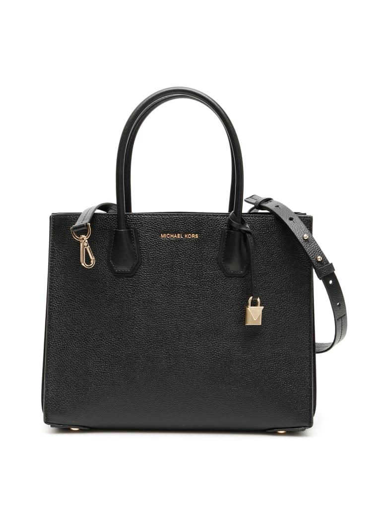 MICHAEL Michael Kors Large Mercer Tote Bag - BLACK (Black)