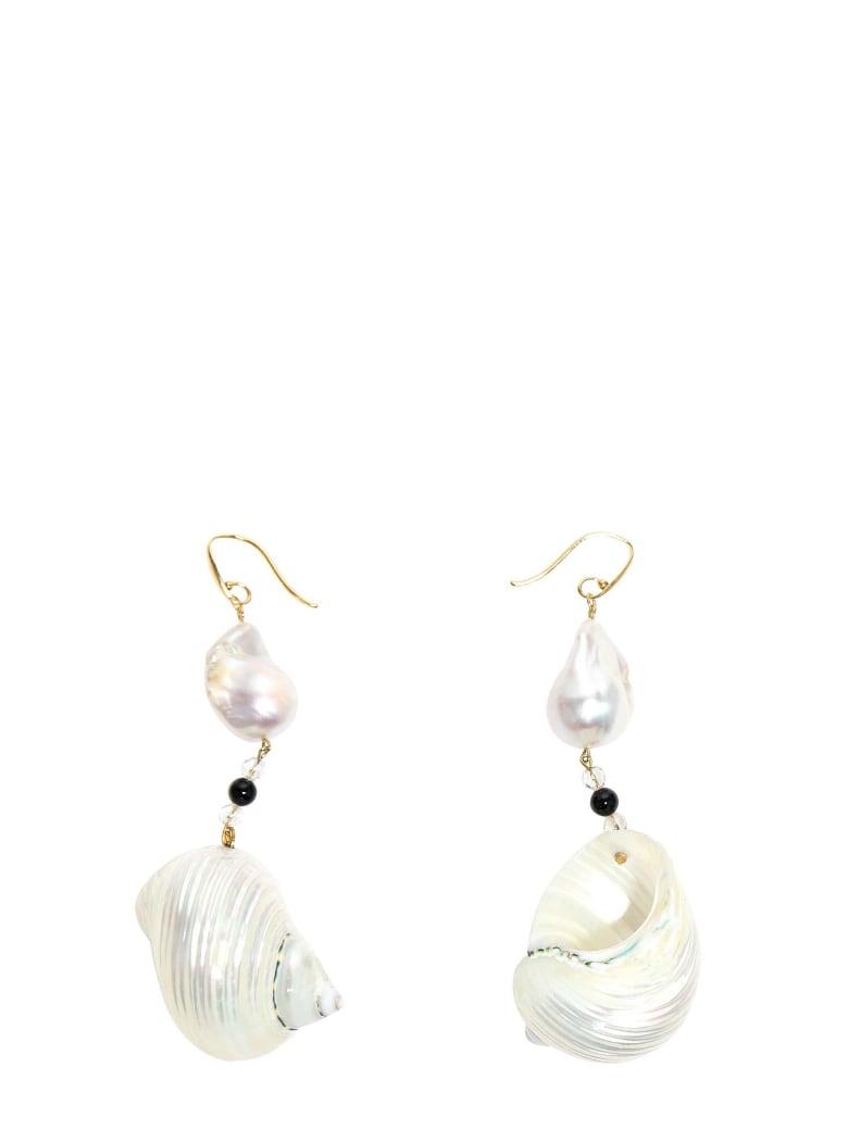 Prada Earrings - White