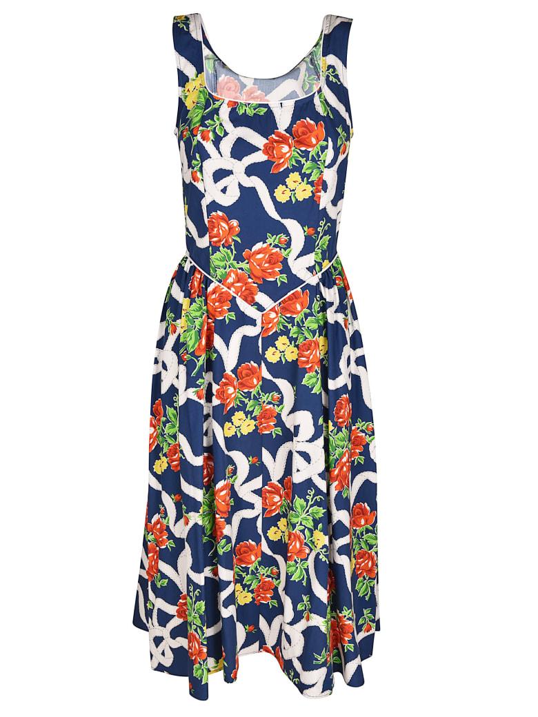 Batsheva Floral Dress - Multicolor