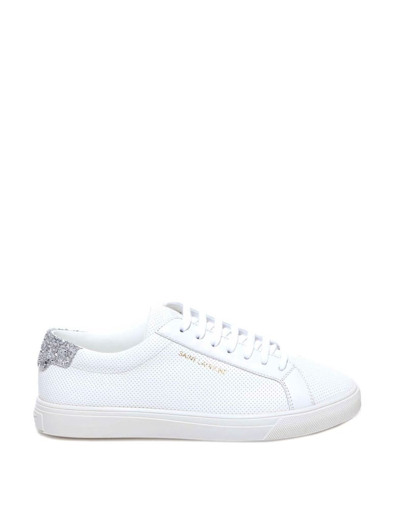 Saint Laurent Sneakers - Silver