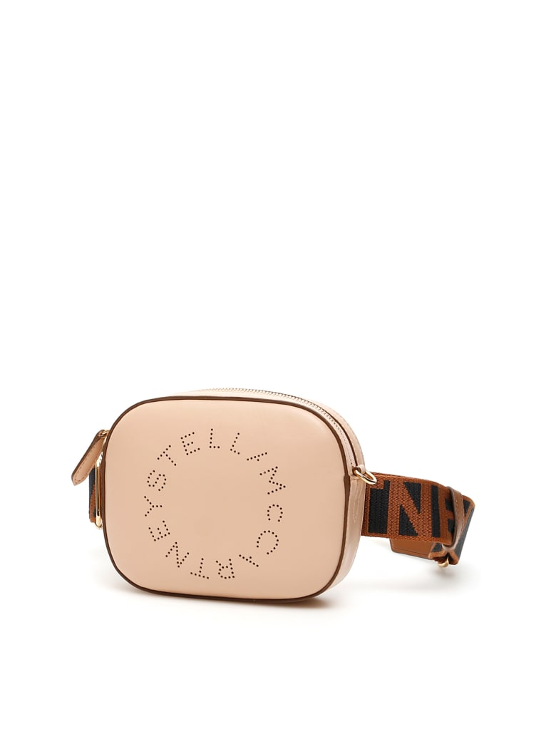 Stella McCartney Beltbag With Perforated Logo - Cipria