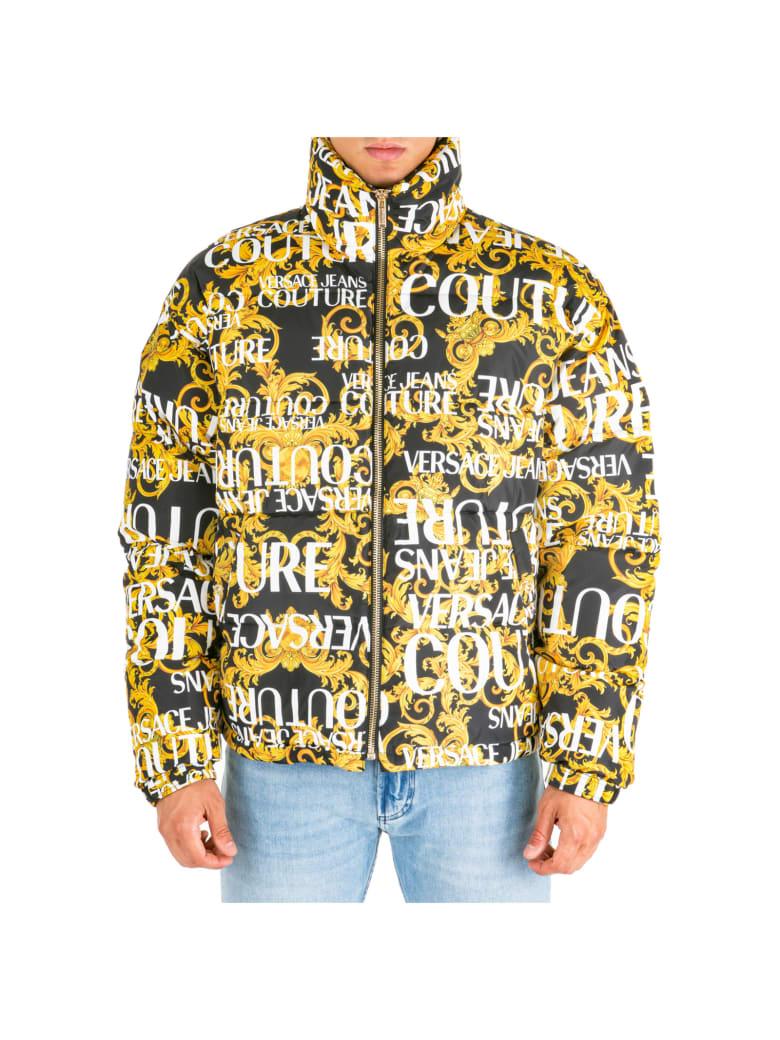 Versace Jeans Couture Pufferjacke mit Logo Design und