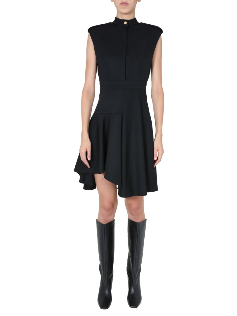 Alexander McQueen Midi Dress - Nero