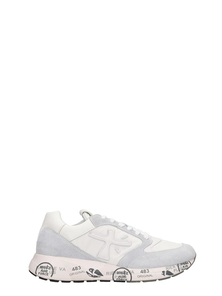 Premiata Zaz Zac  Sneakers In White Tech/synthetic - white