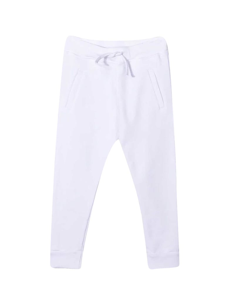 Dsquared2 White Sports Trousers - Bianca