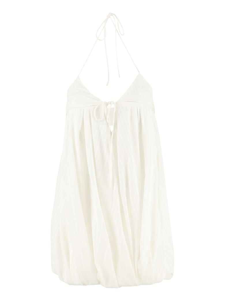 Jacquemus Caro Balloon Mini Dress - panna