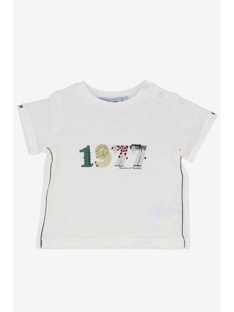Tartine et Chocolat Printed T-shirt - Bianco