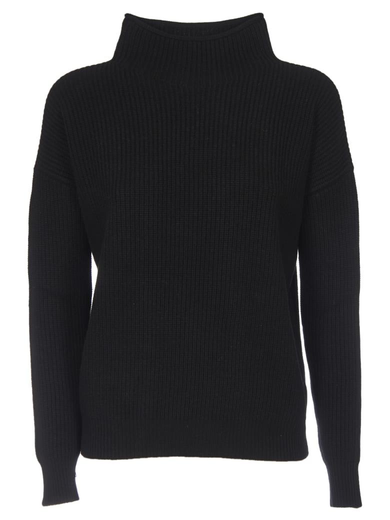 Peserico Turtleneck Pullover In Black - Black