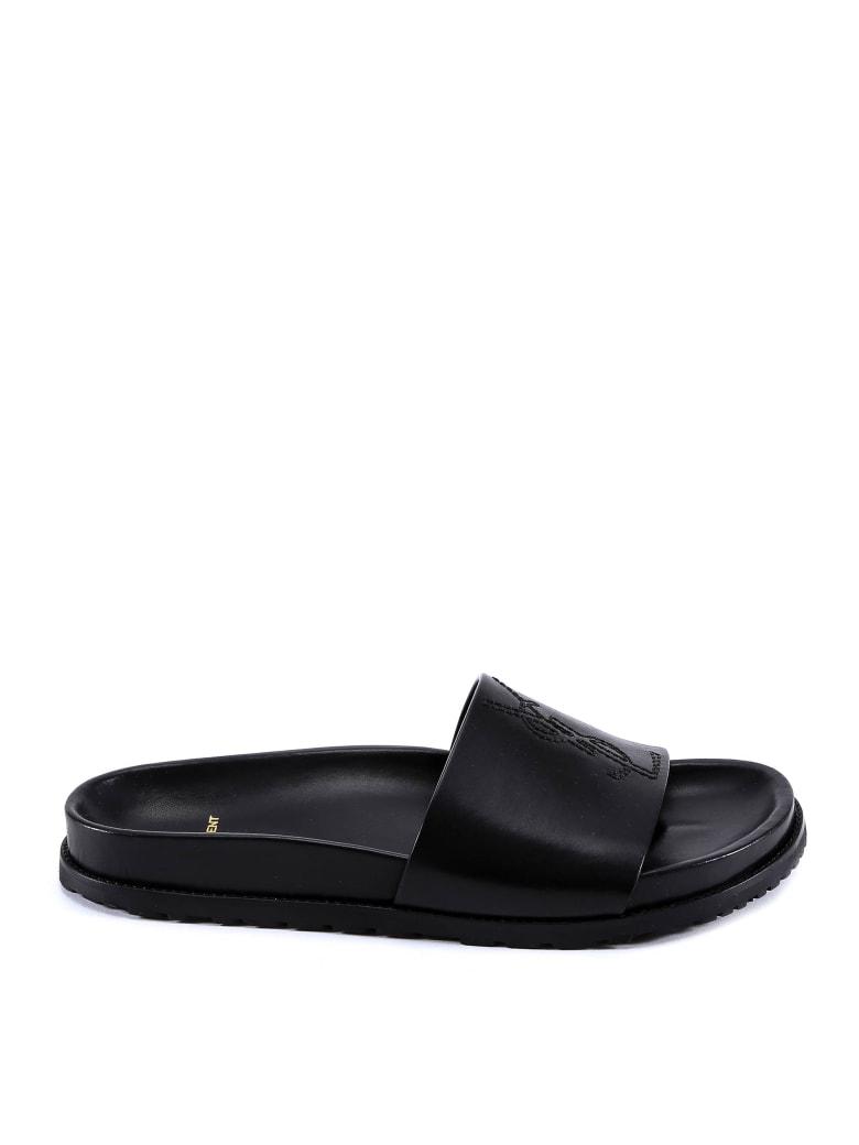 Saint Laurent Jimmy Sandals - Black