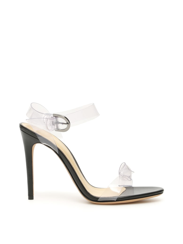 Alexandre Birman Clarita Pvc 100 Sandals - TRASPARENT BLACK (Black)