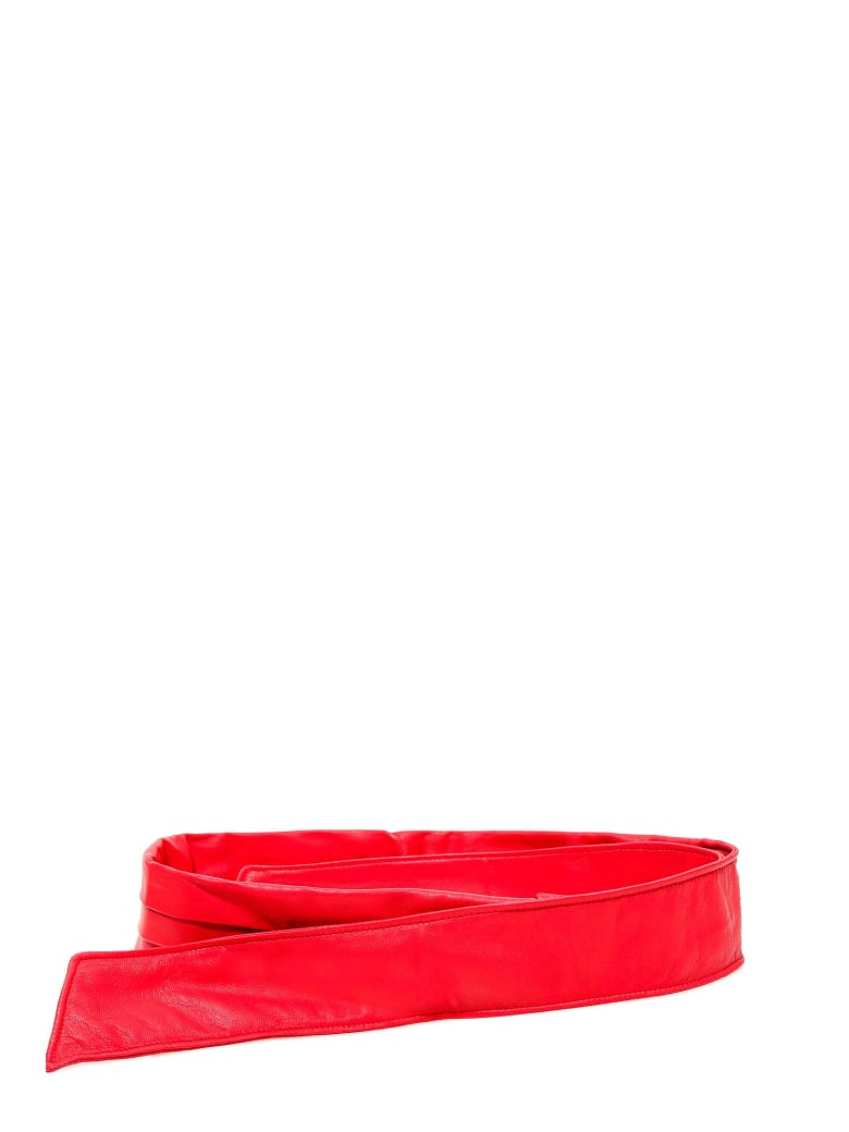 Philosophy di Lorenzo Serafini Belt - Red