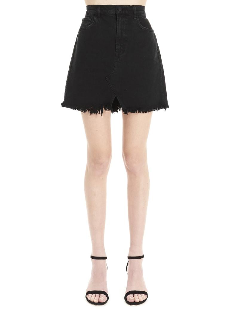 J Brand 'jules' Skirt - Black
