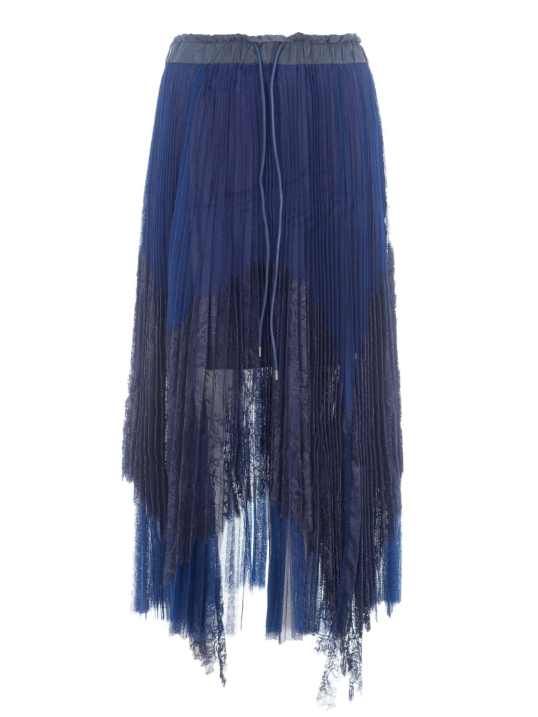 Sacai Lace Skirt - NAVY