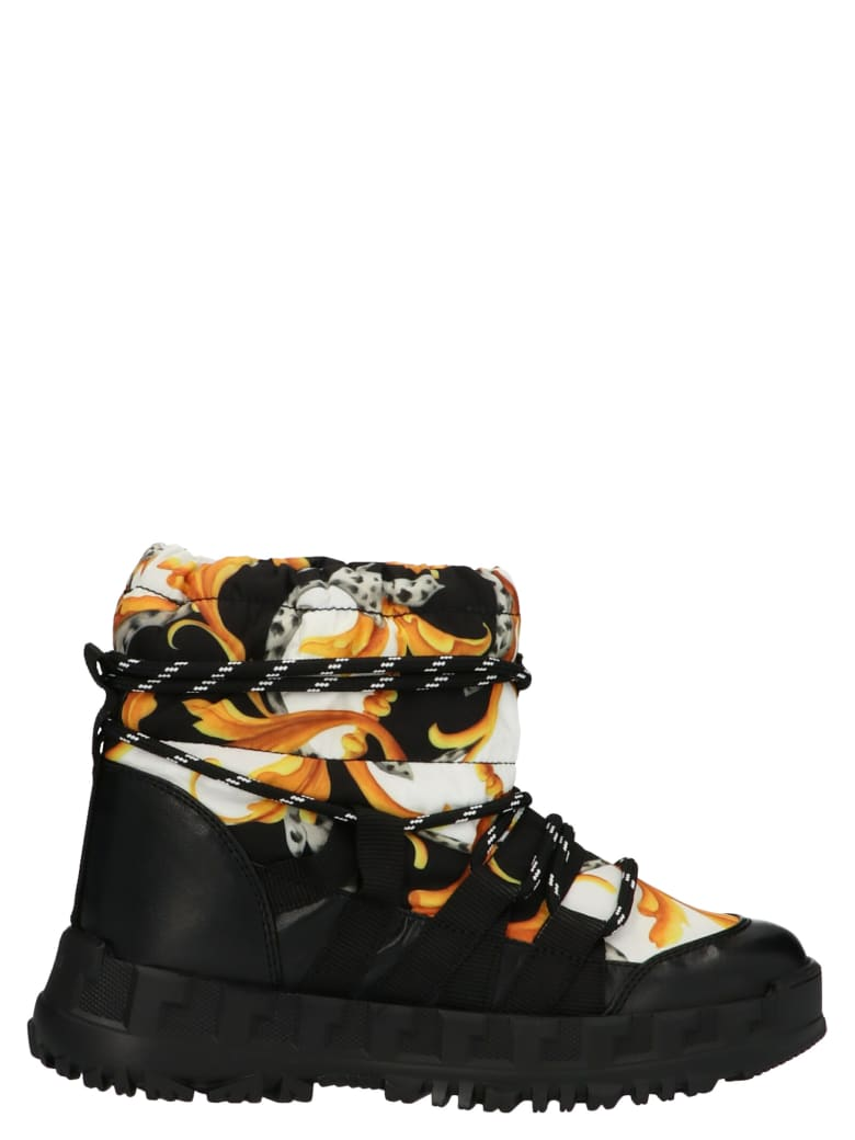 Young Versace Shoes - Multicolor