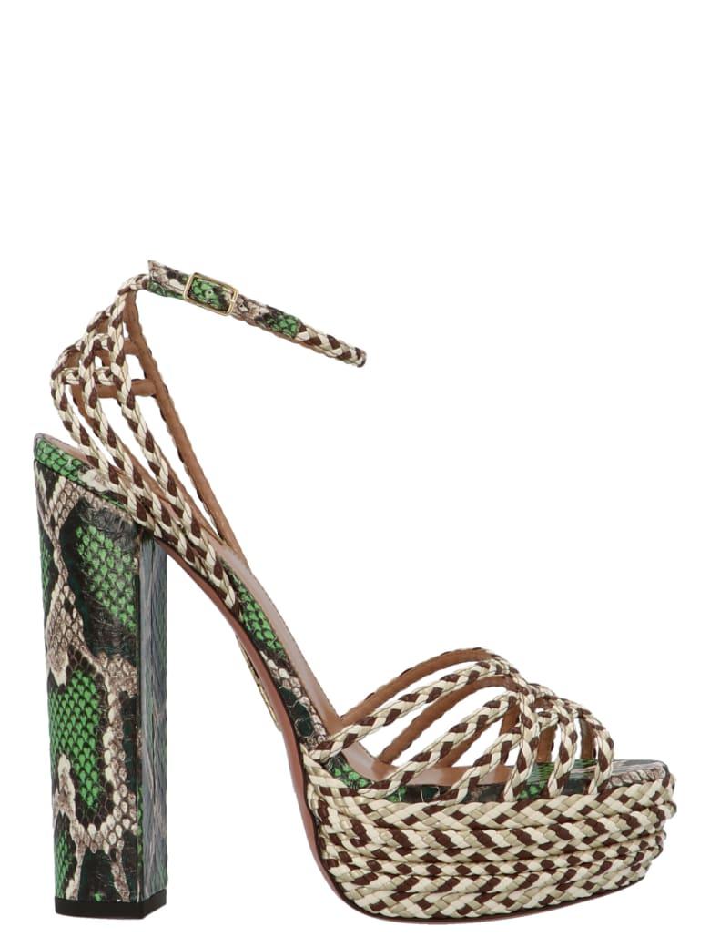 Aquazzura 'cozumel 140' Shoes - Multicolor