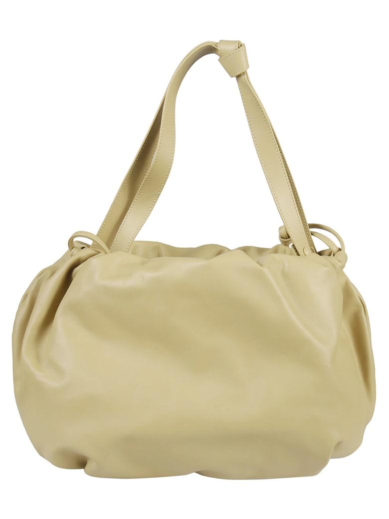Bottega Veneta Short Handle Shoulder Bag - Tapioca/Gold