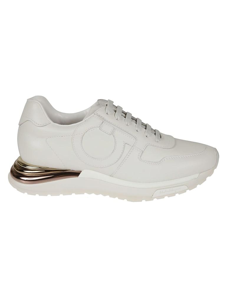 Salvatore Ferragamo Brooklyn Sneakers - White