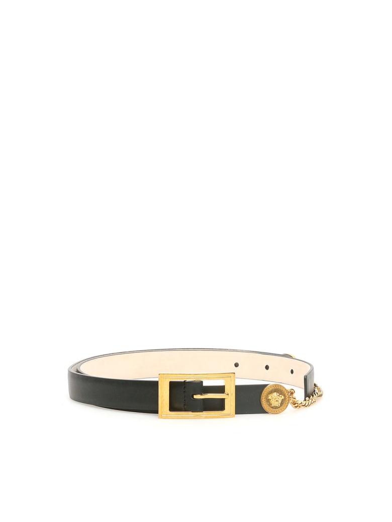 Versace Runway Belt - NERO ORO TRIBUTE (Black)