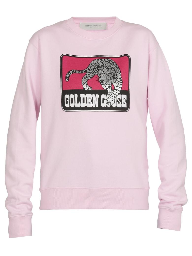 Golden Goose Cotton Sweatshirt - PINK
