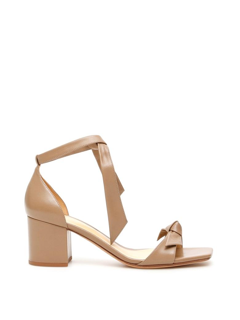 Alexandre Birman Clarita Square 60 Sandals - CAMEO (Beige)