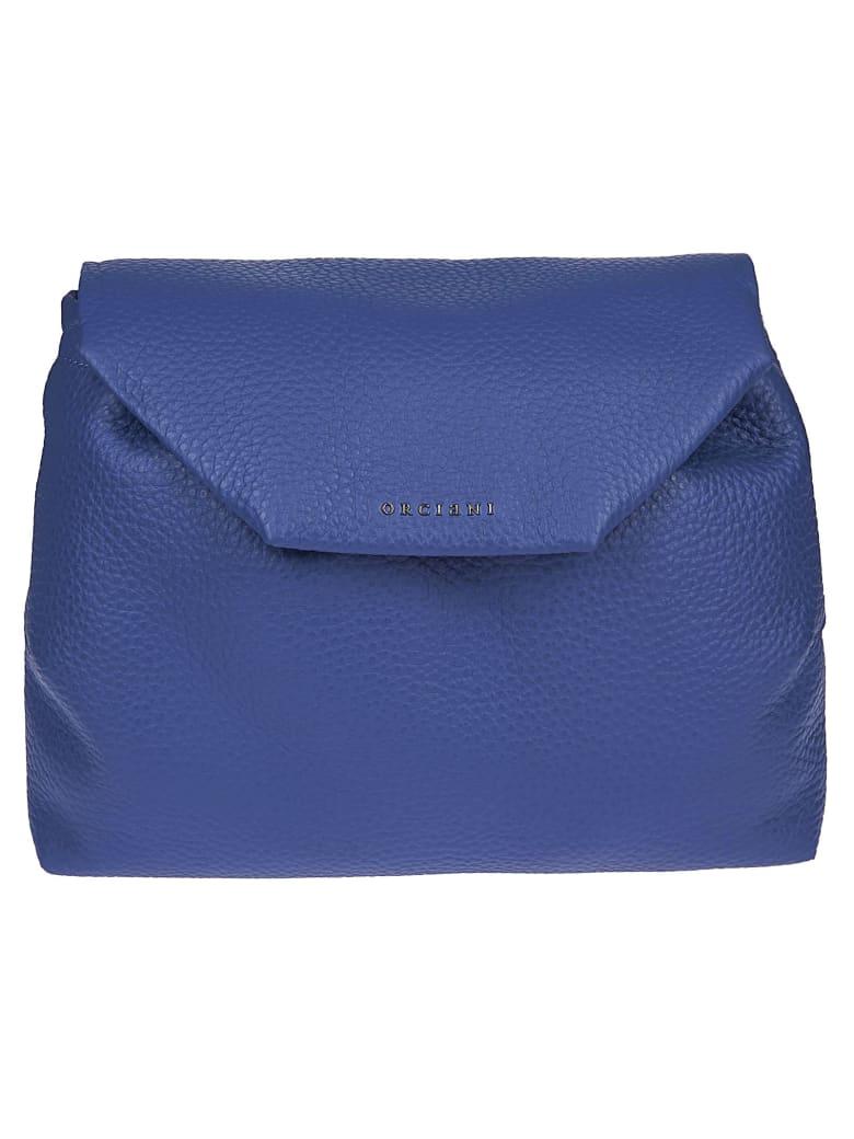 Orciani Flap Shoulder Bag - Cobalt